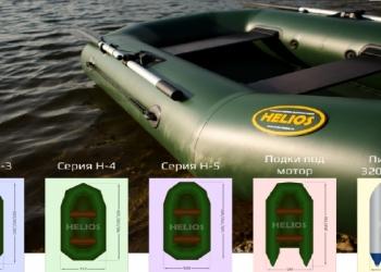 """Гребные и моторно-гребные Лодки ПВХ """"Альфа"""" и """"Гелиос"""""""