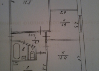 4-к квартира, 58,6 м2, 5/5 эт.
