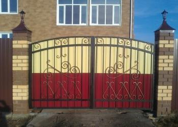 Ворота,заборы,беседки,мангалы