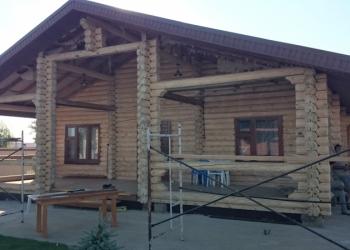 Шлифовка и покраска срубовых домов