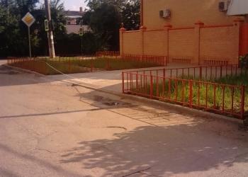 Ограждение газонов. Изготовление и установка оградок.