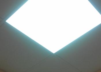 Светильник светодиодный ДВО 36 Вт, 595*595*40 микропризма