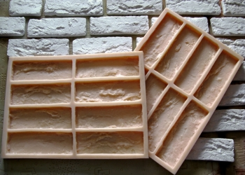 Полиуретановые формы для декоративного камня