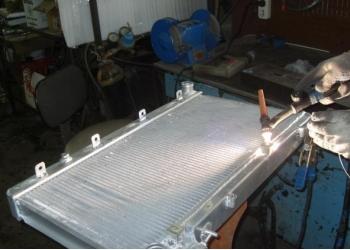 Ремонт авто-радиаторов и интер-кулеров ( из любого металла )