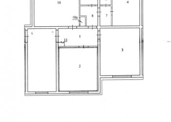 продам 2 комнаты в трёхкомнатной благоустроенной квартире