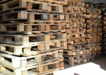 Поддоны деревянные б/у, новые