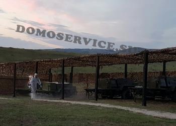 Уничтожение клещей, Крым Севастополь