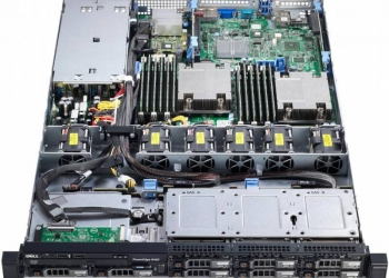 Сервер PE R320 E5-1410,2*8Gb, 3*1TB NL SAS, H710,
