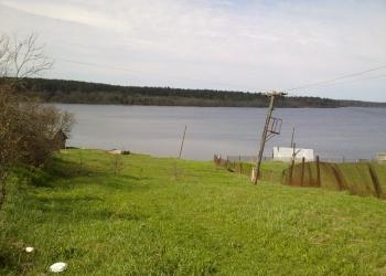 Дом с участком на берегу озера Едрово