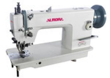 Швейная промышленная машина с двойным продвижением и обрезкой края Aurora A 0352