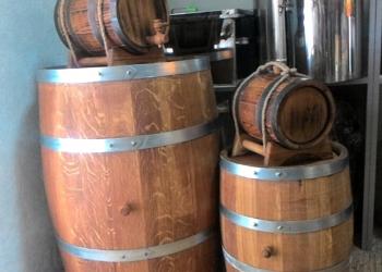 Дубовая бочка 20 литров жаренная для вина и коньяка