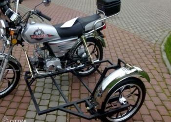 Мотоцикл альфа 110