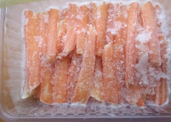 Мясо краба стригуна, камчатского: салатка, фаланг