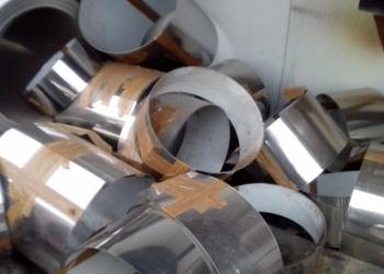 Отходы нержавейки (aisi 304) 0,8 мм. рифленого алюминия 2,5 мм. и черного листа