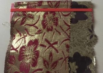 ткань рюлексная,парча иранская