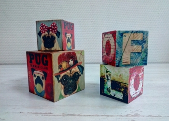 Интерьерные кубики