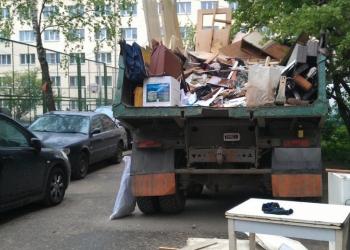 Вывоз мусора.Транспорт.Грузчики.