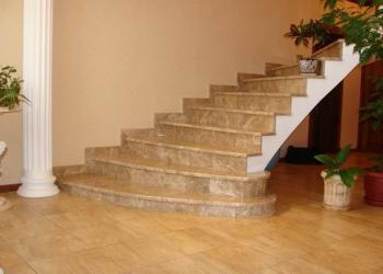 Лестницы на заказ из монолитного бетона