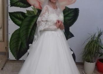 Красивое и нежное свадебное платье