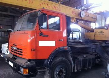 Автокран КС-3577 на базе Камаз