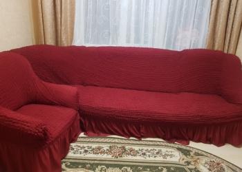 Угловой диван-кровать с креслом