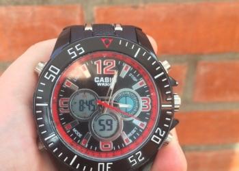 Противоударные часы Casio WR30M