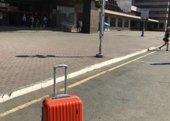 Ударопрочный чемодан на колесах