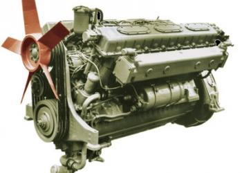 1Д12В-300КС2 Двигатель привода генераторов 200 кВт в дизель-генераторах ДГ-200-