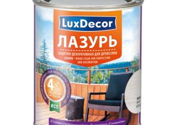 Лазури, пропитки, лакоморилки  LuxDecor (Польша-Голландия) для древесины.