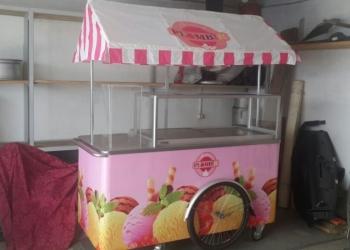 Тележка для продажи мороженого на развес