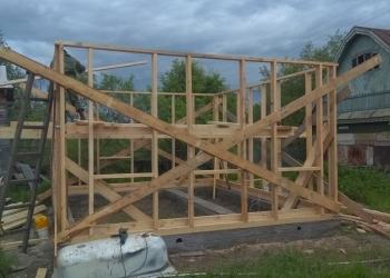 Строительство каркасных домов, бань