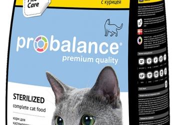 Корма премиум класса Пробаланс и ПроХвост для кошек и собак.
