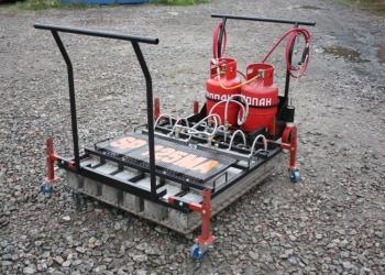 Инфракрасный газовый нагреватель асфальта SP-125МА