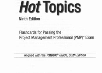 PMP полный комплект материалов для сертификации и для PM