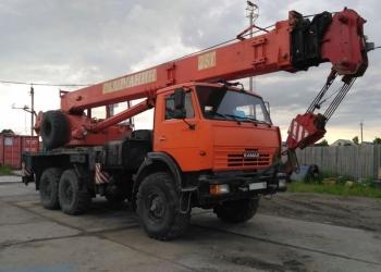 Услуги/аренда автокрана, 25 тон