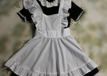 Школьная форма на 1 сентября, на последний звонок ,платье с фартуком