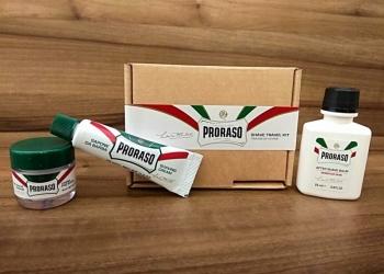 Дорожный набор для бритья Proraso