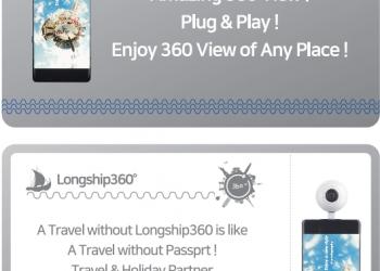 VR CAMERA LONGSHIP360°