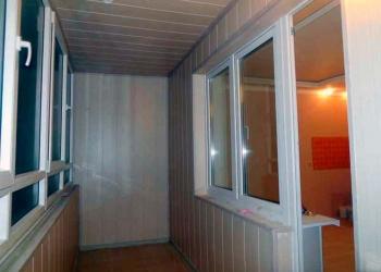 Обшивка балкона, отделка квартиры в Пензе
