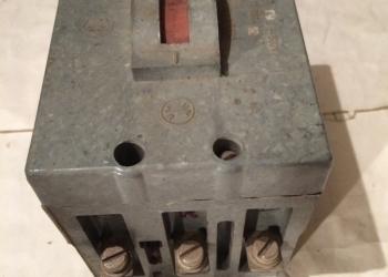 Выключатель  автоматический  АК63-3м