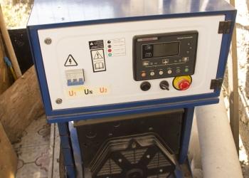 дизель-генератор с автоматическим щитом запуска