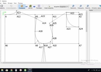 Обучение параметрической кройке одежды через скайп