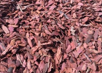 Мульча (щепа лиственничная)