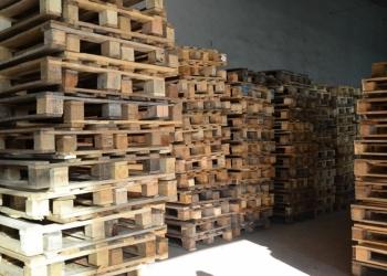 Продам деревянные поддоны б/у