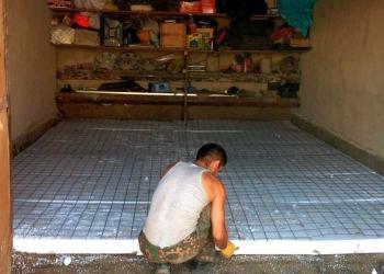 Забетоним пол в гараже, доме. Делаем бетонные работы в Пензе