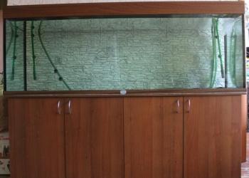 Продается аквариум с тумбой 750 литров