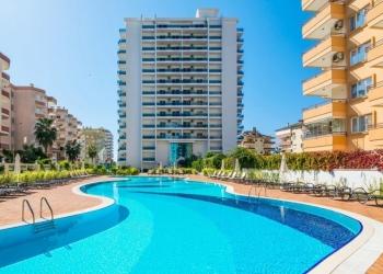 Квартира у моря (200 метров) в жилом комплексе Sfera . Турция, Алания, Махмутлар
