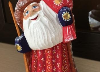 Дед Мороз расписной