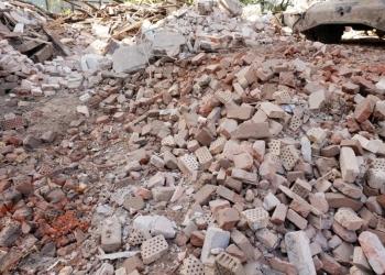 Дробленый бетон, бой кирпича