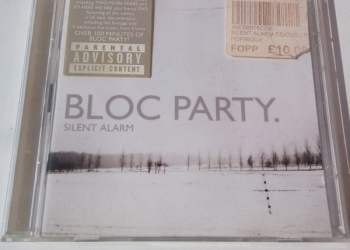 "Block Party CD+DVD ""Silent alarm"""